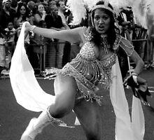 Feelin' Hot Hot Hot.....nottinghill carnival by Victoria limerick