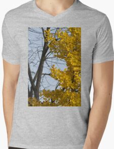 tree in autumn Mens V-Neck T-Shirt