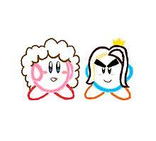 Kirby's Epic Yarn: Game Grumps Photographic Print