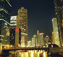 Chicago Night by Alberto  DeJesus