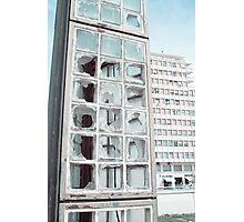 málaga destruction Photographic Print
