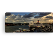 The Gothenburg Port Canvas Print