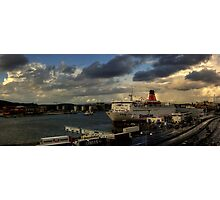 The Gothenburg Port Photographic Print