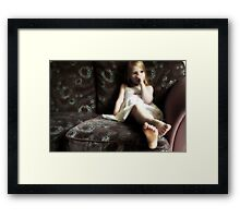 Dreaming Of Being A Princess Framed Print