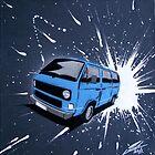 Dub Splat 07 Painting by Richard Yeomans