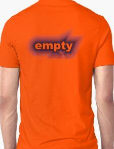 purple black empty T-Shirt