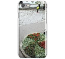 A small town square iPhone Case/Skin
