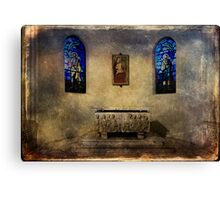 Holy grunge Canvas Print