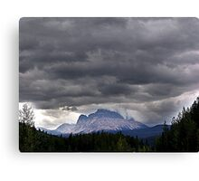 A Crown of Clouds Canvas Print