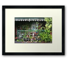 Iron Lace, Fitzroy Framed Print