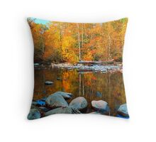 MIDDLE PRONG,AUTUMN Throw Pillow