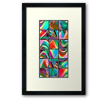 big data strategy puzzle Framed Print