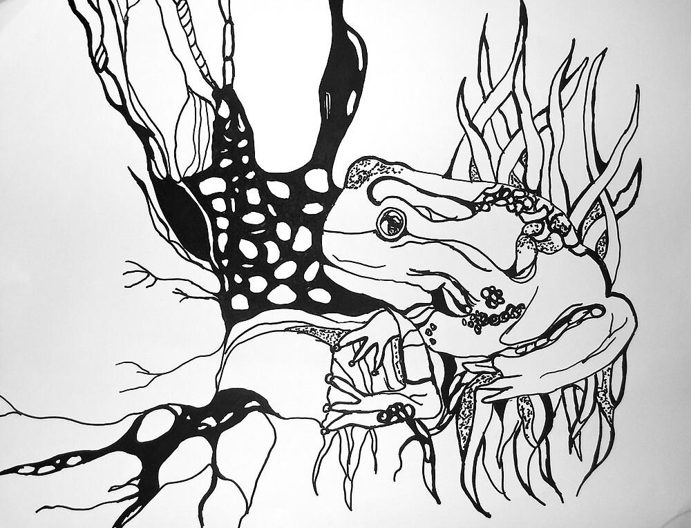 Tree Frog by maryanne115