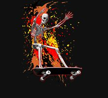 Skateboarding skeleton Unisex T-Shirt