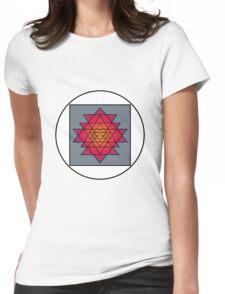 Sri Yantra Womens Fitted T-Shirt