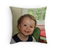 Child for a Day Throw Pillow