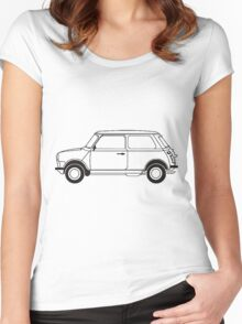 Mini classic  Women's Fitted Scoop T-Shirt