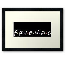 "TV Show ""Friends"" Attire! Framed Print"