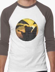 Good vibes music surf bear Men's Baseball ¾ T-Shirt