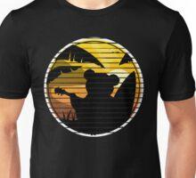 Good vibes music surf bear Unisex T-Shirt