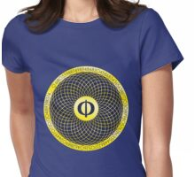 Phi ~ The Golden Section Womens Fitted T-Shirt