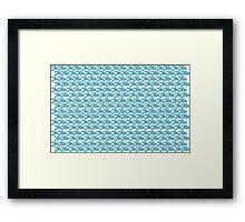 Jiu-Jitsu Blue  Framed Print
