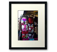 Bums Up Framed Print
