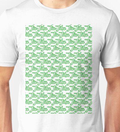 Jiu-Jitsu Green  Unisex T-Shirt