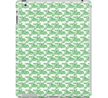 Jiu-Jitsu Green  iPad Case/Skin