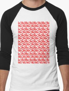 Jiu-Jitsu Red Men's Baseball ¾ T-Shirt