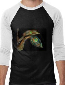 Fractasaurus Men's Baseball ¾ T-Shirt