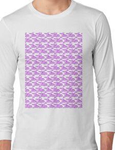 Jiu-Jitsu Purple  Long Sleeve T-Shirt