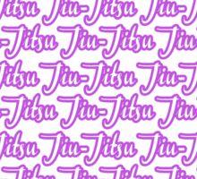Jiu-Jitsu Purple  Sticker
