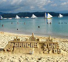 sand castle by kenfarnaso