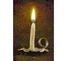 Painted Candle Photographic Print
