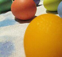 Free-Range (of color) Eggs by artwhiz47