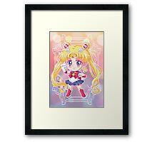 Chibi Sailor Moon Crystal Framed Print