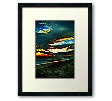 Loaded Sky Framed Print