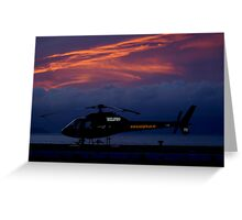 before the the dawn flight Greeting Card