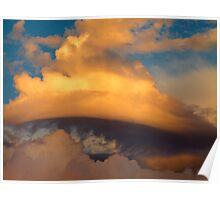 easter sunday morning clouds Poster