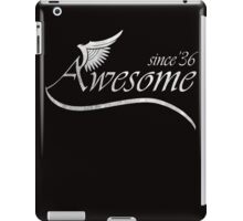 Awesome Since 1936 iPad Case/Skin