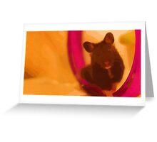 JoJo the Syrian Hamster Greeting Card