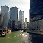 Chicago Waterway by Alberto  DeJesus