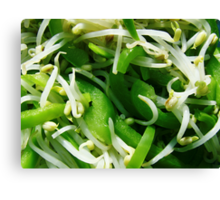 Peppers & Sprouts Canvas Print