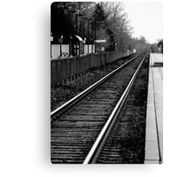 Down the track a ways.... Canvas Print