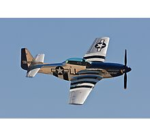 P-51 Mustang - Crazy Horse Photographic Print