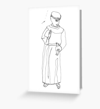 St. Francis Greeting Card
