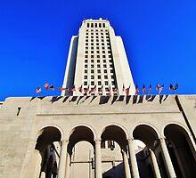 Los Angeles City Hall by Stephen Burke