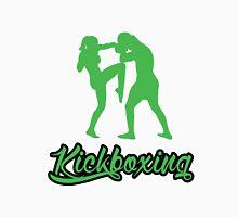 Kickboxing Female Knee Green  Unisex T-Shirt