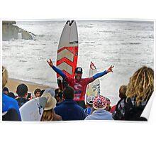 Joel Parkinson wins 2011 Rip Curl Pro at Bells Beach 2 Poster